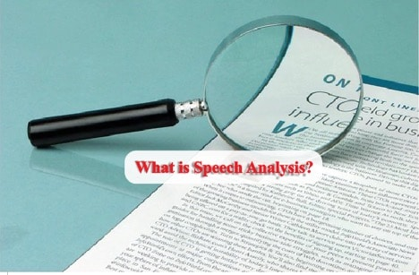 What is Speech Analysis?